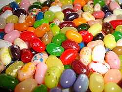 Jelly Bellies! Because,uh...Jelly Belly!